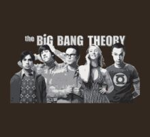 Big Bang Theory Team by r3ddi70r