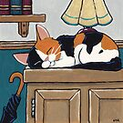 A Calico Nap by Lisa Marie Robinson