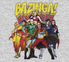 The Big Bang Theory - Bazinga by r3ddi70r