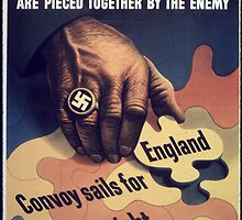 Reprint of a WWII Propaganda Poster by chris-csfotobiz