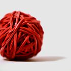 Elastic-band Ball and Shadow by schnappischnap