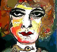 Marchesa Luisa Casati Portrait #1 by Kater