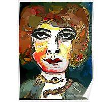 Marchesa Luisa Casati Portrait #1 Poster