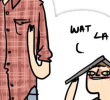 Sam is Unamoosed Sticker