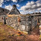 The Ruined Blackhouse by hebrideslight
