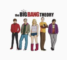 The Big Bang Theory by r3ddi70r