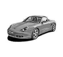 Porsche Boxster Photographic Print