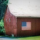 All American Barn by Polly Peacock