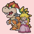 Bowser & Peach by thevillain