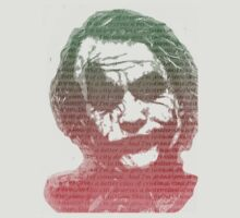 Joker with quotes by Cudge82