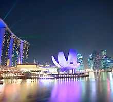 Marine Bay Sands of Singapore by yewkwang
