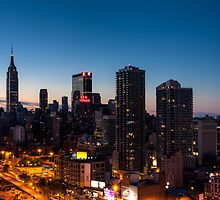 Sunrise in New York City by Arata