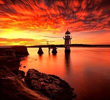 Fiery Dawn by Arfan Habib