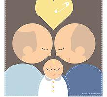 2 Men & a Baby by lisajaynemurray