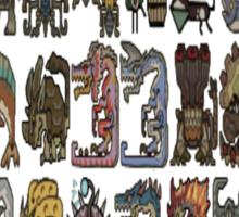 Monster Hunter Tri- Monster Emblems Sticker
