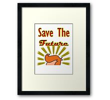 Save The Future: Fry Framed Print