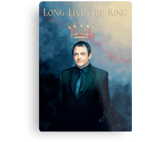 The King Of Hell ♥ Metal Print