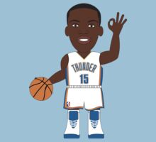 NBAToon of Reggie Jackson, player of Oklahoma City Thunder by D4RK0