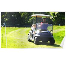 Golf Buggy Poster