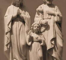 The Holy Family by Marie Sharp