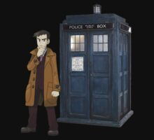 Looker and the Tardis by Xeno01