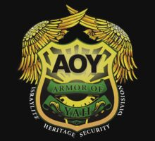 "Armor of YAH ""AOY"" Color (Black or Dark Shirt) by NatanYah Ysrayl"