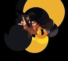 Bruce Lee Game of Death by lazylaves