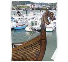 Viking Ship, Cherbourg Poster