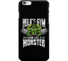 Hulk's Gym iPhone Case/Skin