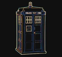 Bright Lightform Tardis by Xeno01