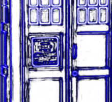 Tardis Blue Sticker