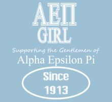 Alpha Epsilon Pi Girl - Supporter Tee by GREEKTEES