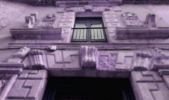 purple house by dedakota