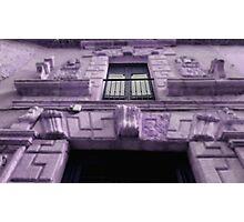 purple house Photographic Print