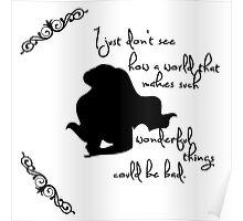 Disney Princesses: Ariel (The Little Mermaid) *Black version* Poster
