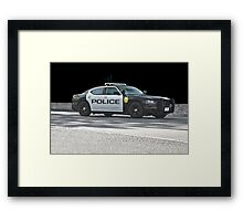 Protect and Serve - The City's Finest Framed Print