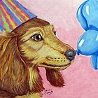 Birthday Doxie by ShannonClements