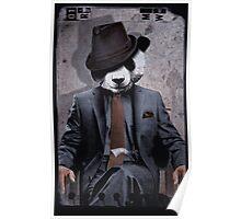 Gangster Panda Poster