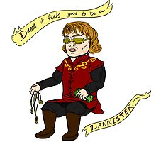 Damn It Feels Good to Be A Lannister by HardlyQuinn