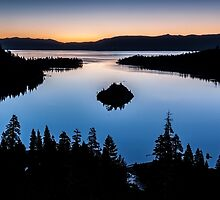 Emerald Bay Morning - Lake Tahoe by Richard Thelen