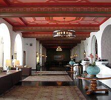 Royal Hawaiian Hotel Lobby  by kenspics