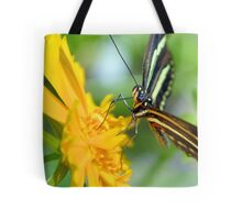 The Zebra Longwing Tote Bag