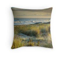 Marram Grass Throw Pillow