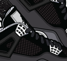 Air Jordan IV (Oreo Inspired Kicks) Sticker