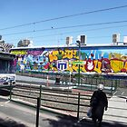South Melbourne Train Station by Bev Pascoe