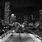 Melbourne Street Bridge Brisbane Queensland. by Nick Egglington