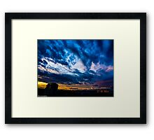 Every minute she changed her image...:) Framed Print