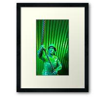 Toy Soldier Framed Print