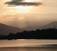 Serenity at Millarochy by Linda  Morrison