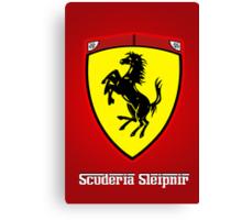 Scuderia Sleipnir Shield Canvas Print